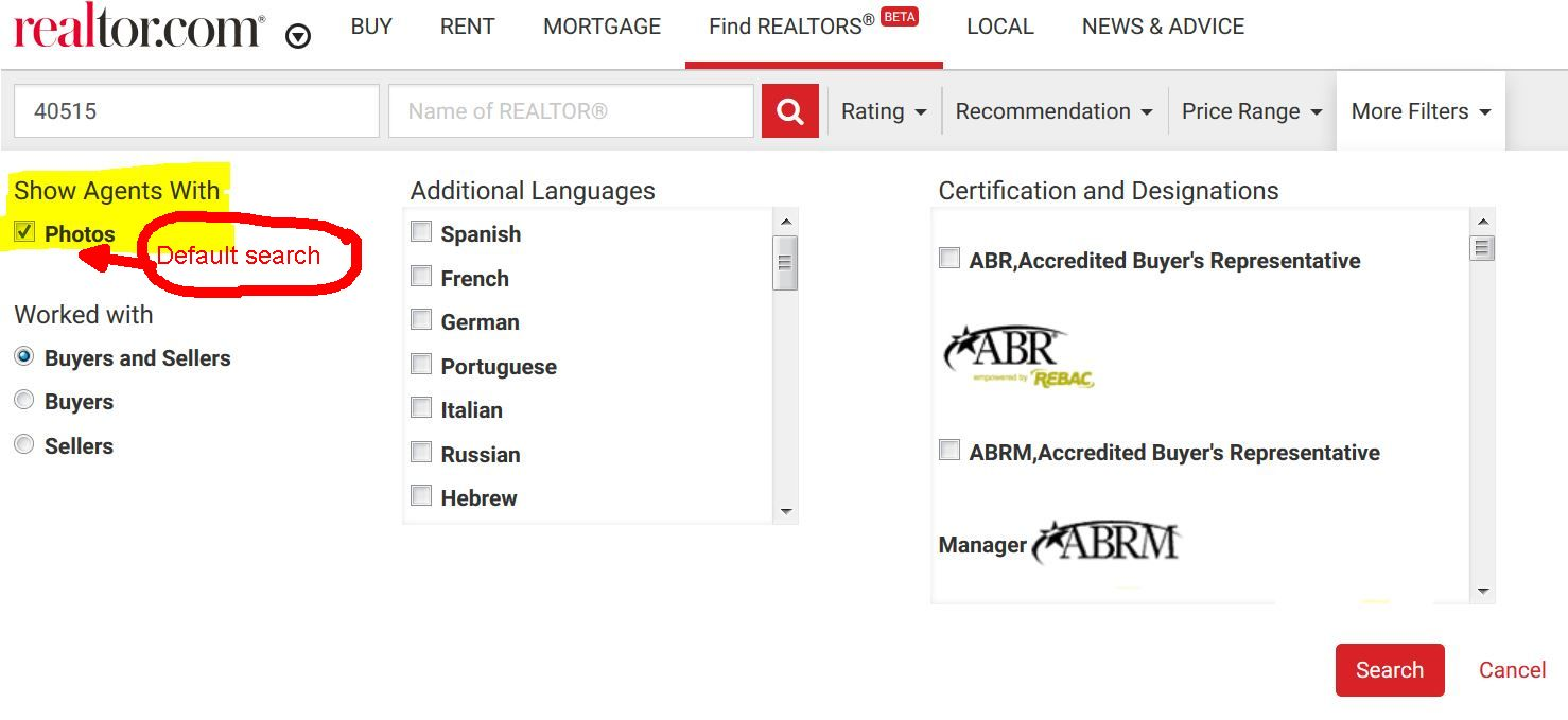 Realtor.com makes updates to search and SEO